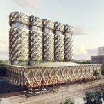 Башня ЗИЛ от Neutelings Riedijk Architects, Москва, Россия.