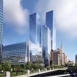 План застройки запад Манхэттена Нью-Йорк