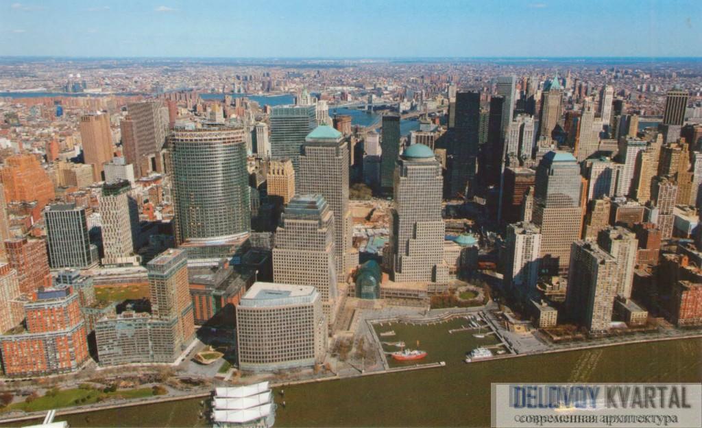 Застройка Манхэттена. Фрагмент
