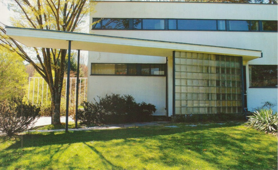 Дом Вальтера Гропиуса в США