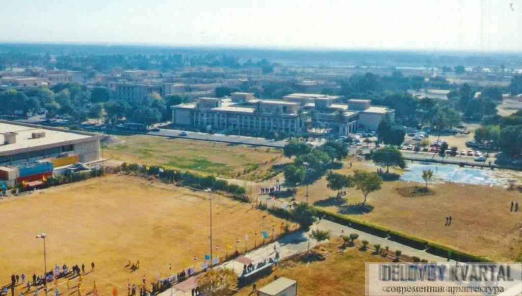 Вид сверху на Университет в Багдаде