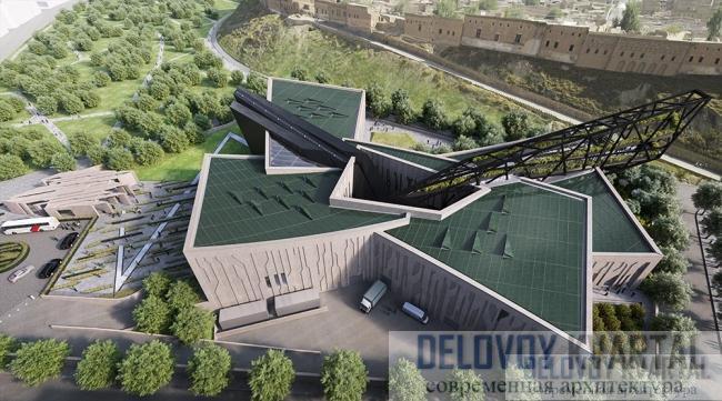 Даниэль Либескинд спроектировал здание для музея курдской культуры в Ираке