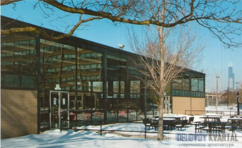 «Комонс-холл» (университетская столовая)