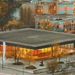 Новая национальная галерея в Берлине