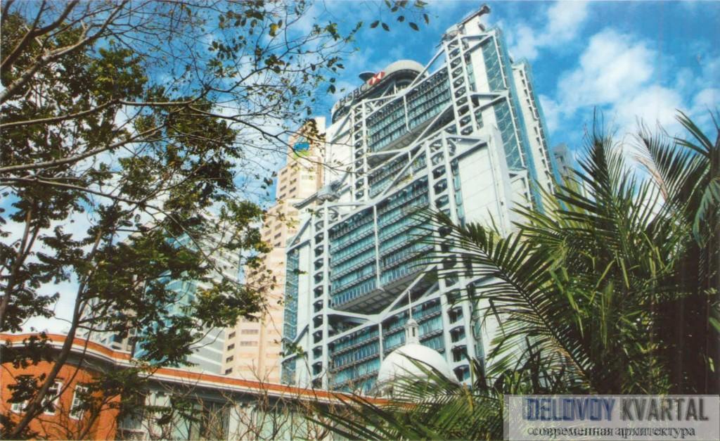 Штаб квартира Гонконгского и Шанхайского банка (Здание HSBC банка)