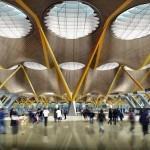 Терминал аэропорта «Барахас» (арх. Ричард Роджерс)