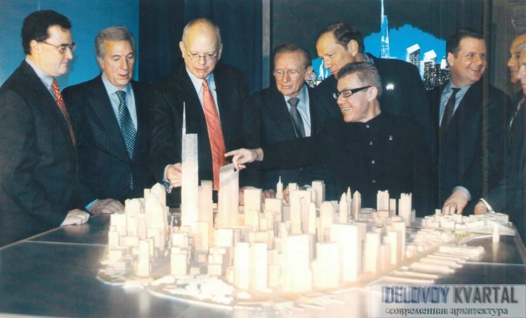 Проект нового комплекса Всемирного торгового центра
