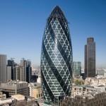 Башня «Мэри-Экс, 30» в Лондоне Нормана Фостера