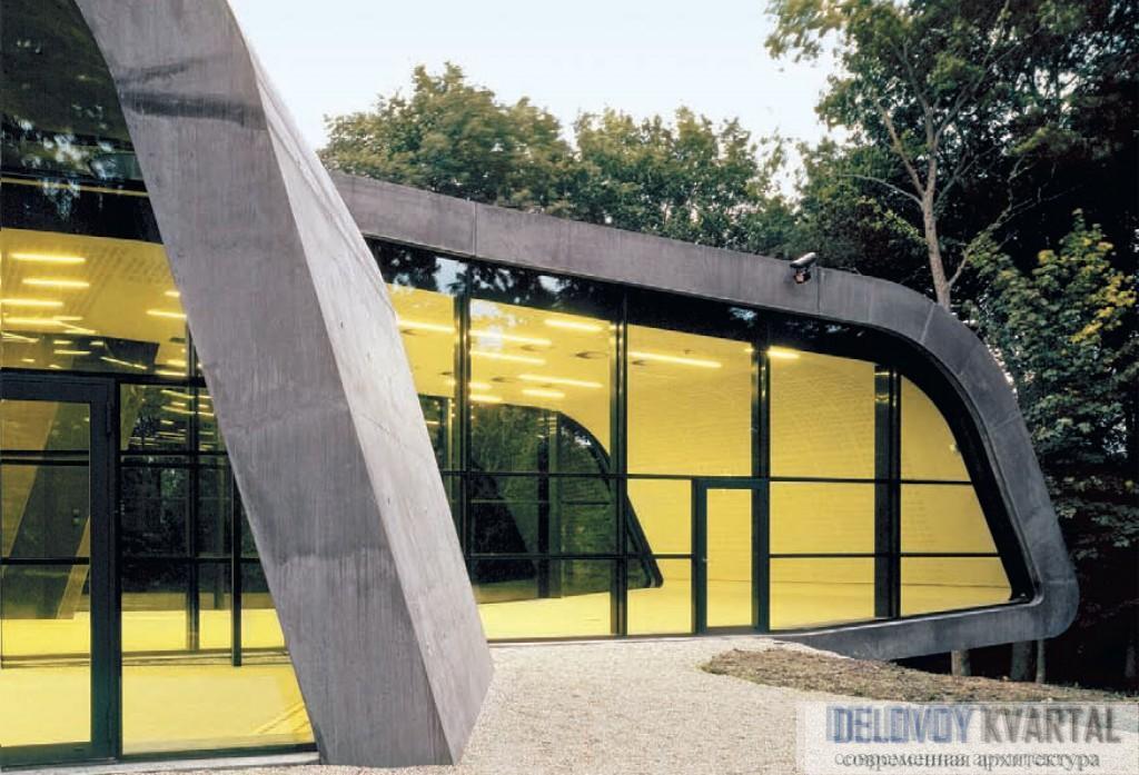 """Музей """"Ордрупгаард"""". Проектируя здание, архитекторы сознательно стремились избежать традиционной для музеев замкнутости."""