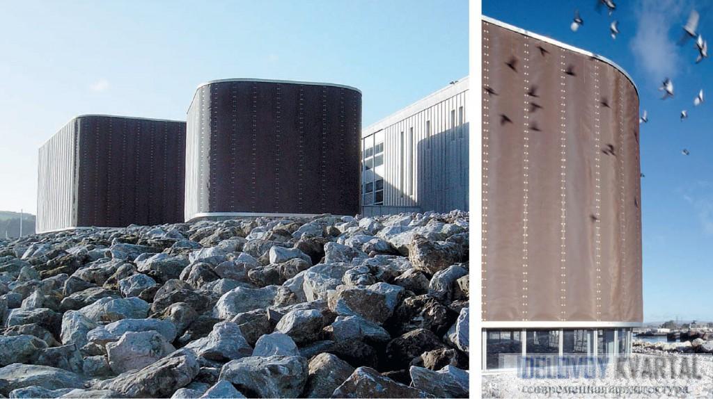 Королевский театр. Общий вид и фасад. Плимут, 1999 г. Арх. Ian Ritchie