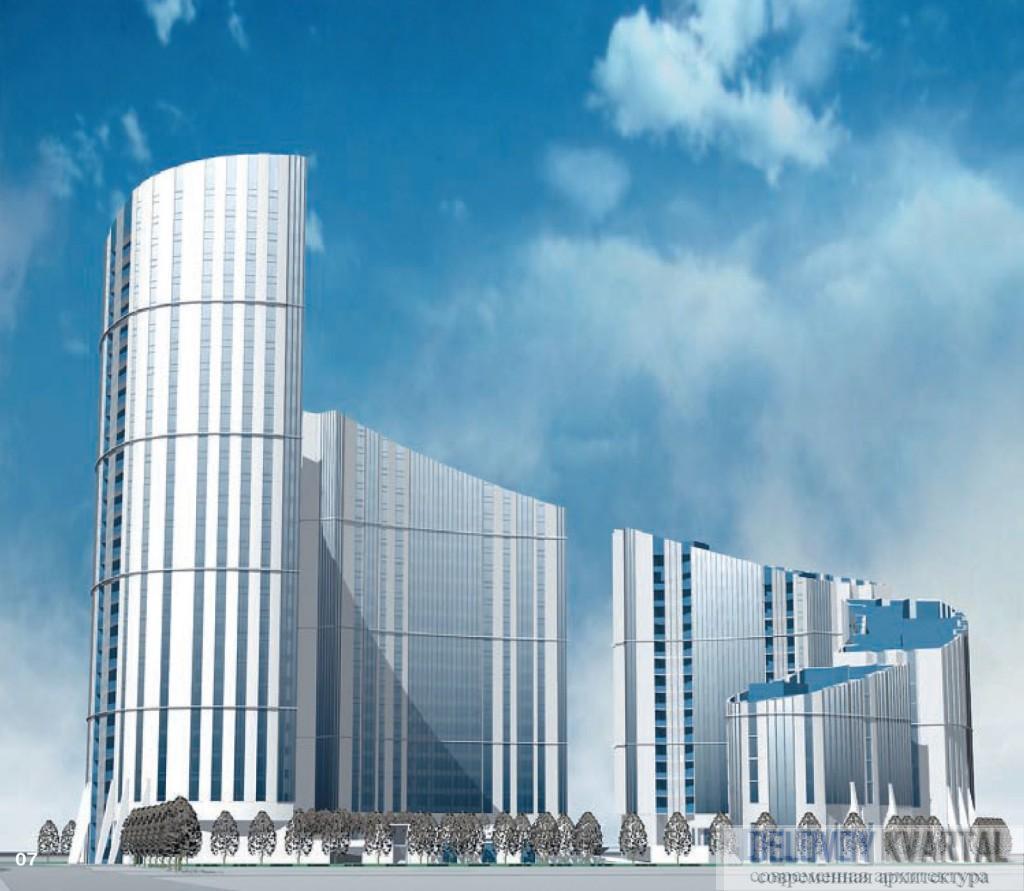ЖИЛОЙ КОМПЛЕКС «НАУТИЛУС». Высотные здания России