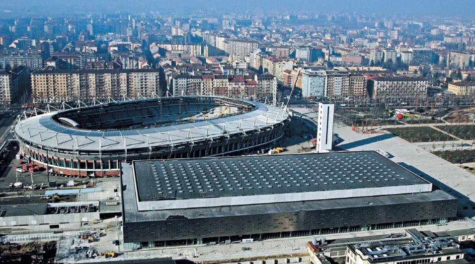 Стадион В Турине