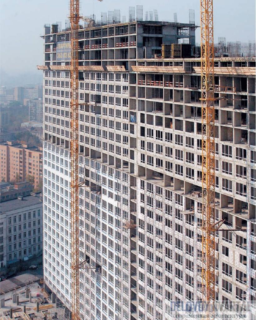 Возведение многоэтажных зданий с каркасной конструктивной схемой. Железобетон для строительства