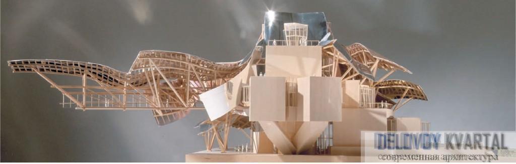 Отель у винодельни Marqu es de Riscal, Ла Риоха. Арх.: Фрэнк Гери, Эдвин Чен (Gehry Partners)