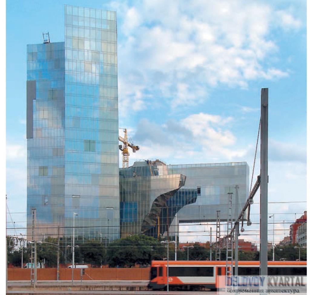 Штаб-квартира Национальной компании по добыче газа, Барселона. Испанская архитектура