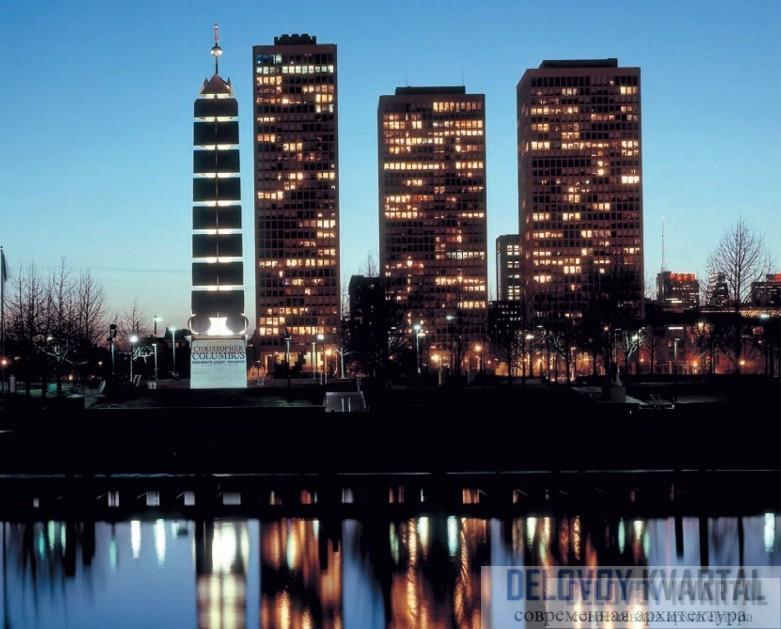 Монумент Христофору Колумбу. Филадельфия, Пенсильвания. 1992