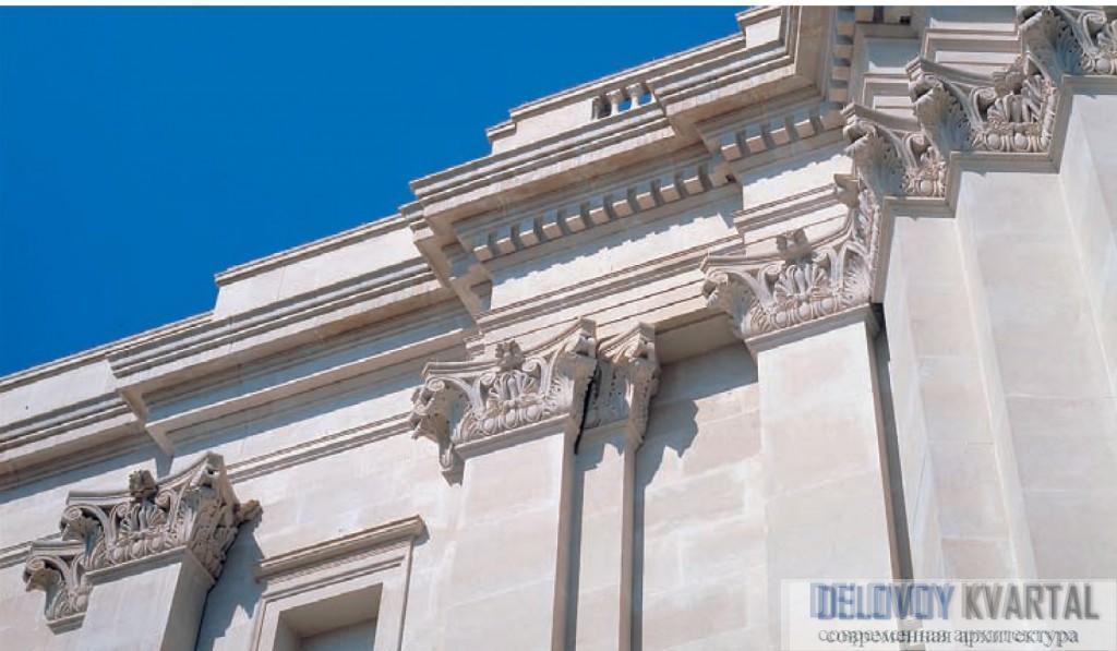 Фрагмент фасада Национальной галереи