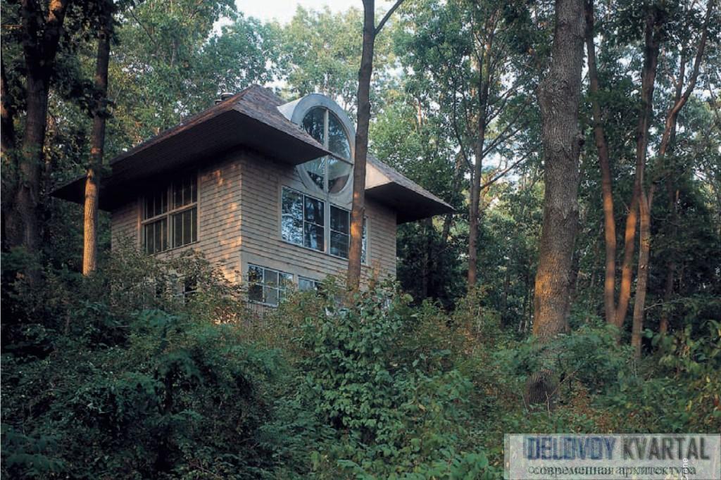 Дом Карла Такера. Катона, Нью-Йорк. 1975. Роберт Вентури