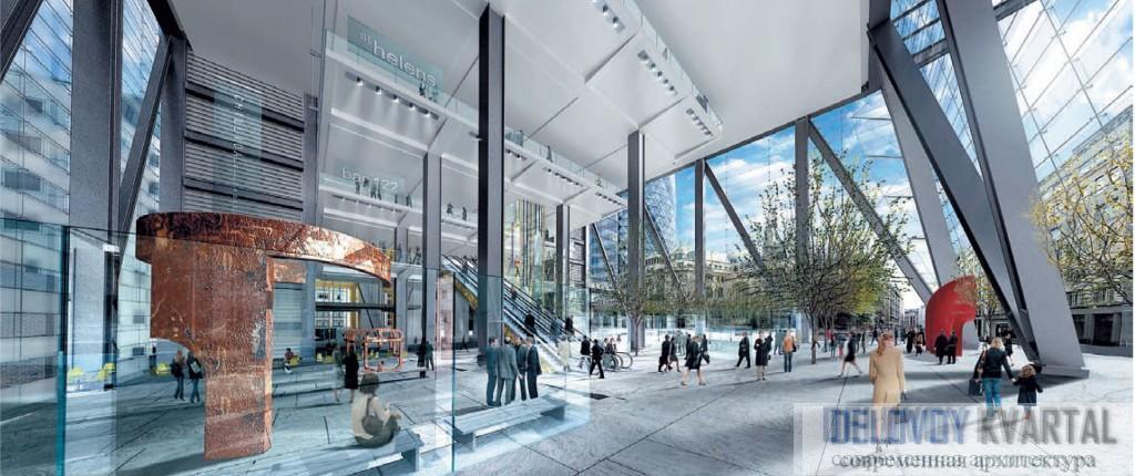Офисный комплекс на 122, Лиденхол стрит, Лон- дон. Высота – 48 этажей.