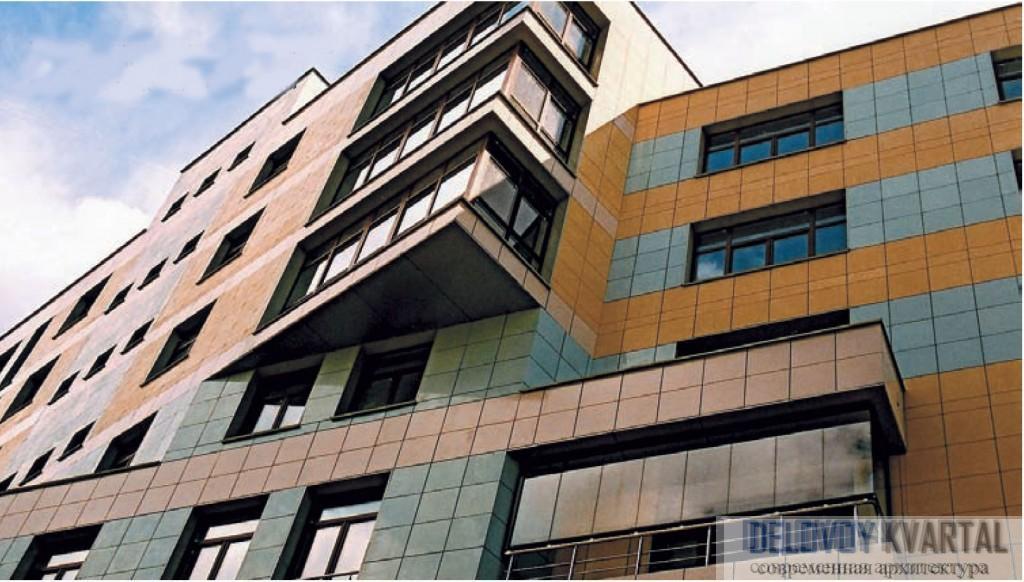 Многофункциональный комплекс на ул. Троицкая, Москва. Фасадная система «Краспан»