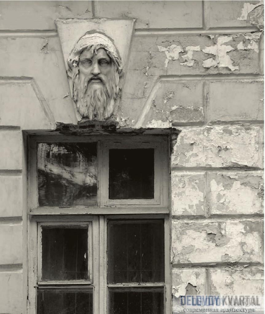 Фрагмент фасада здания Адмиралтейства. Санкт-Петербург