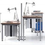 Интерьер архитектурного бюро — творческое место работы архитекторов