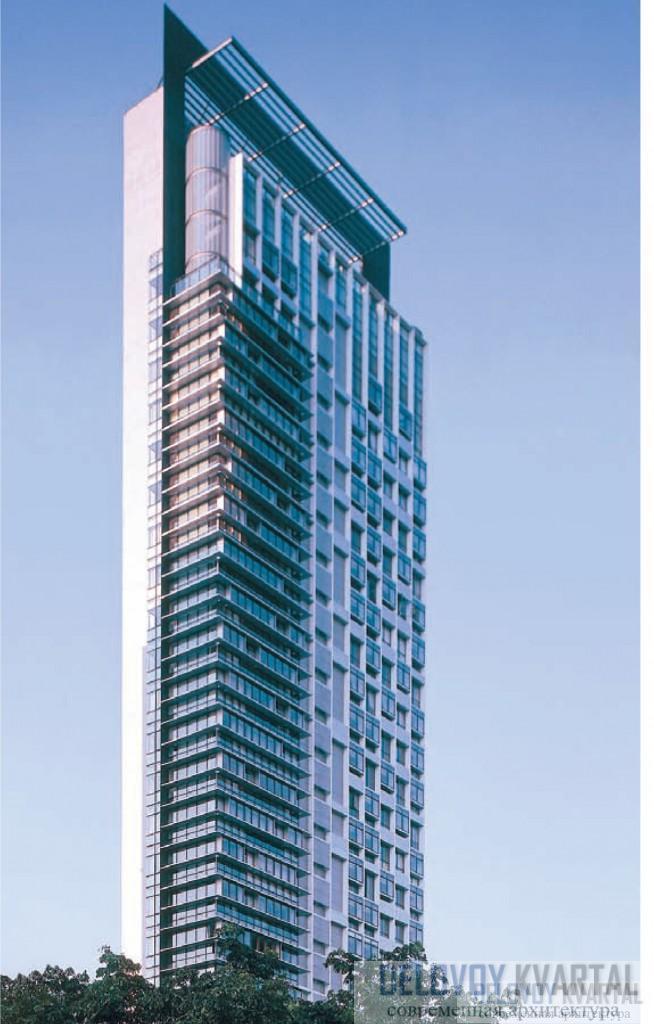 Высотный комплекс Moulmein Rise, Сингапур. Арх. бюро WOHA.