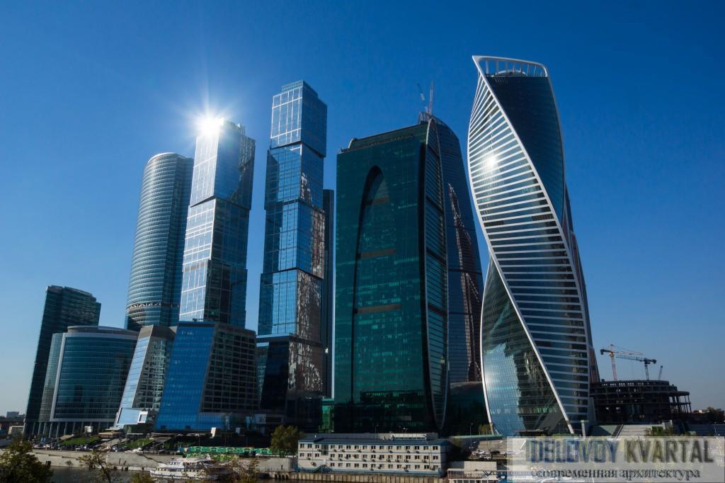 Небоскребы России. «Москва-Сити». Современная архитектура