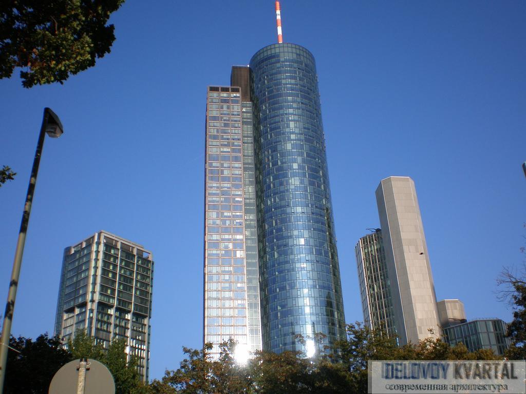 Main Tower. Архитектор Петер Швегер. Проектирование высотных зданий