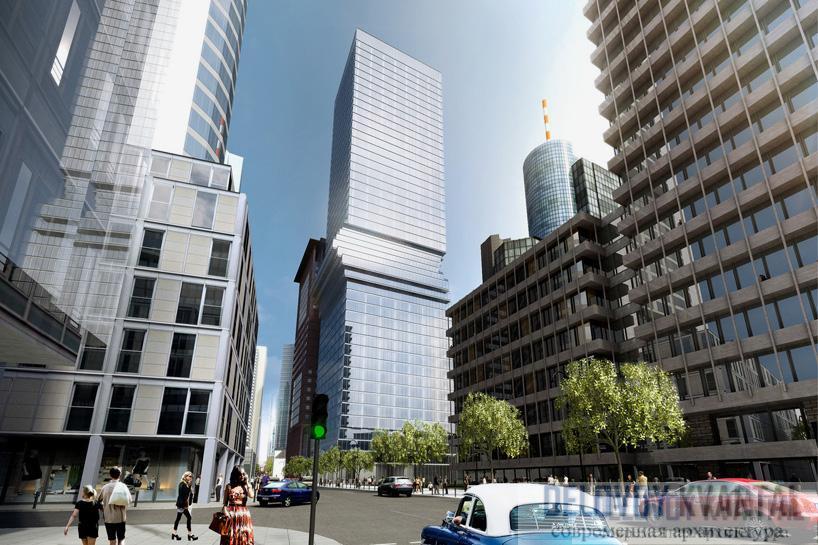 Проектирование небоскреба во Франкфурте