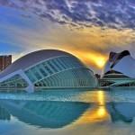 Город искусств и наук в Валенсии Сантьяго Калатравы