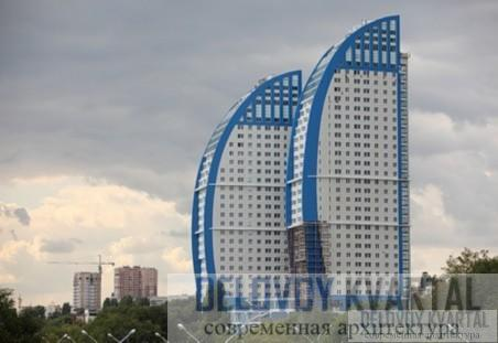 Жилой комплекс «Волжские паруса». Современная архитектура