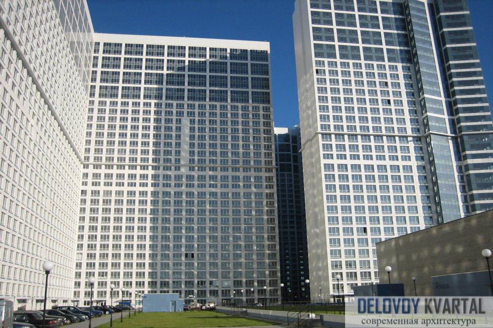 Жилой комплекс «Аэробус». Высотные здания России