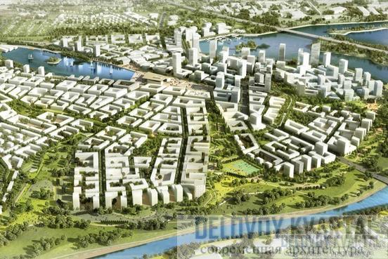 Комплексная застройка - градостроительные концепции городов