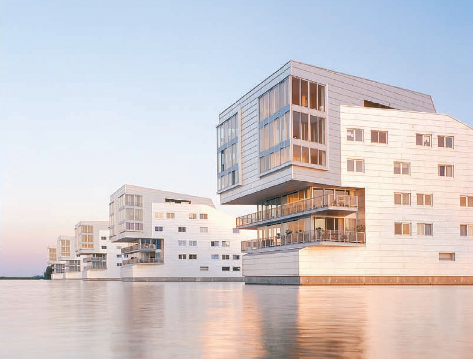 Сами архитекторы прозвали эти дома «сфинк- сами»