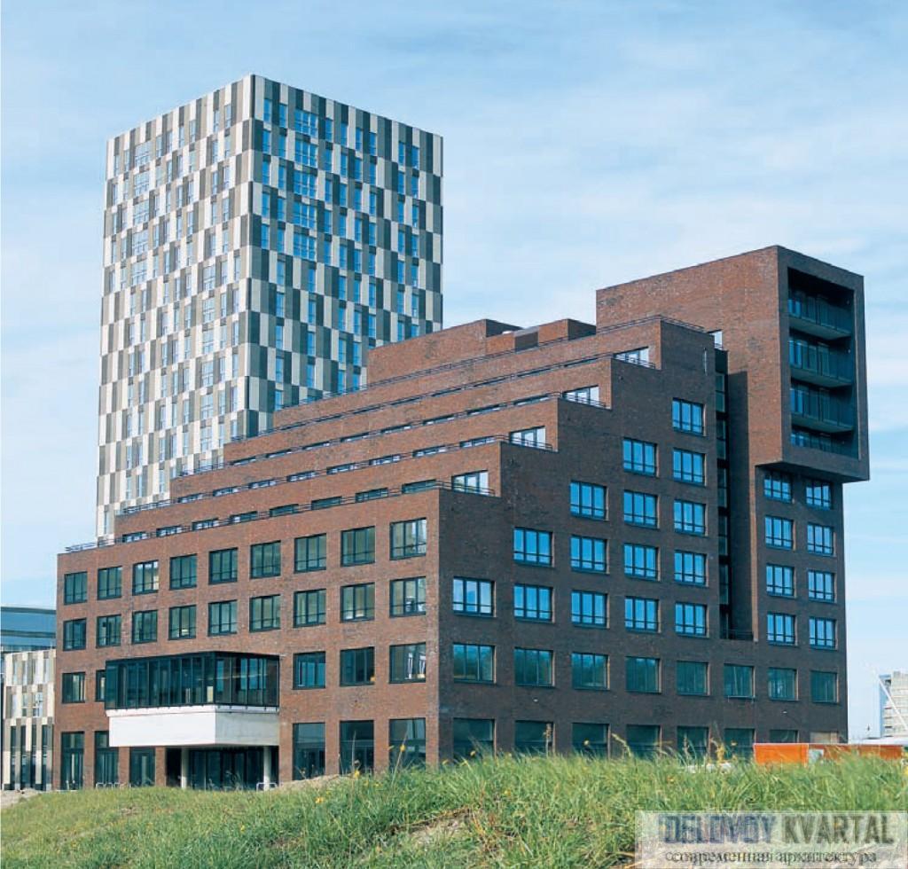 Многоквартирный жилой дом в Мюллерприере (Голландия). Neutelings Riedijk Architects