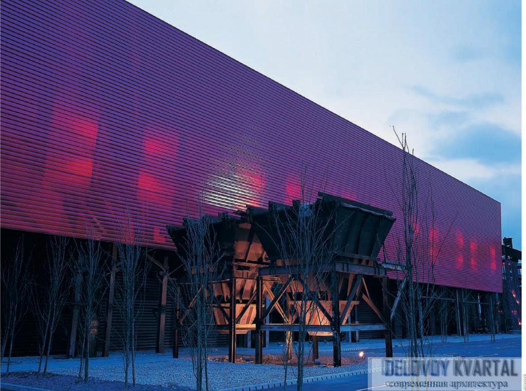 Научно-приключенческий центр Magna. Ротерхэм (Великобритания). Инженерная архитектура