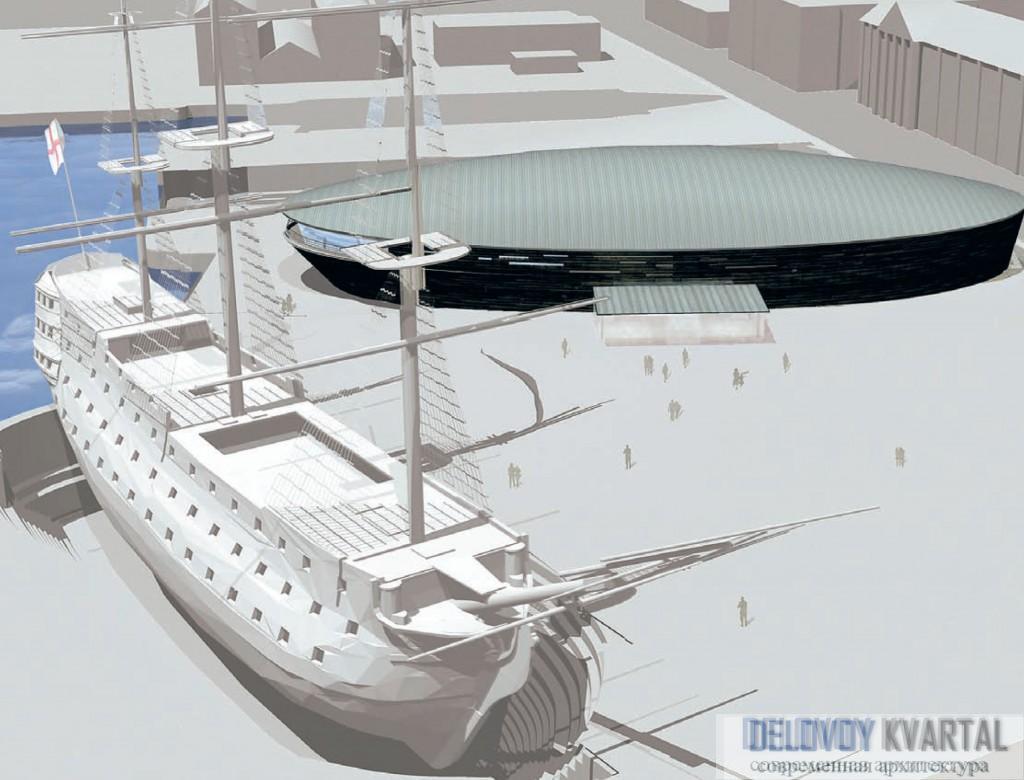 Проект Mary Rose Museum. Портсмут (Великобритания)