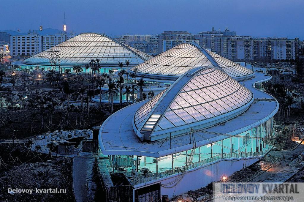 Гимназия в Гуанчжоу. На стадии строительства