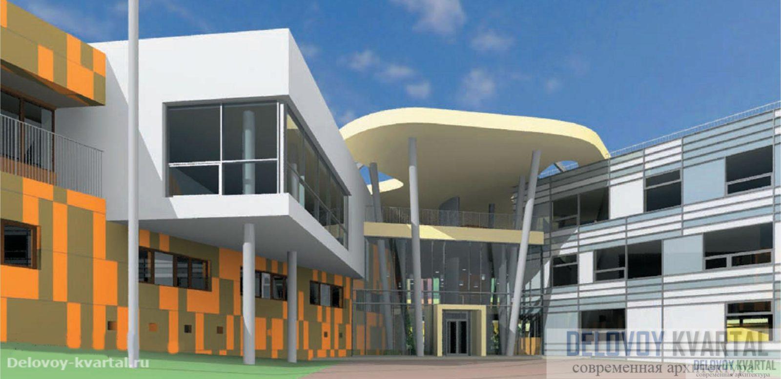 Проект школы-интерната. Архитектурная мастерская «Атриум»