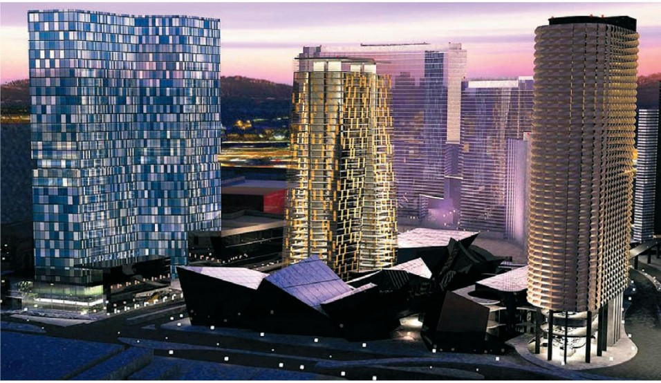 City Centre, Лас Вегас. Арх. Gensler