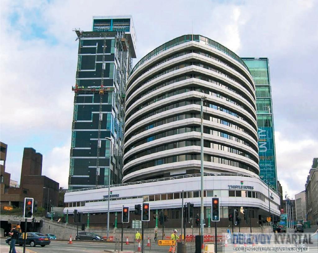 Отель Thistle, Ливерпуль. Арх. AHMM