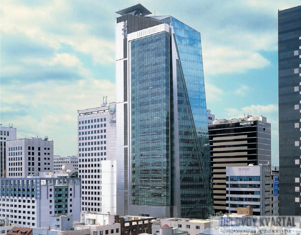 Posteel Tower, Сеул. Арх. Kohn Pedersen Fox Associates