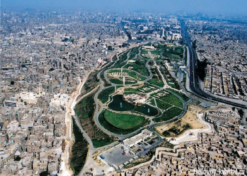 Каир. Аэрофотосъемка