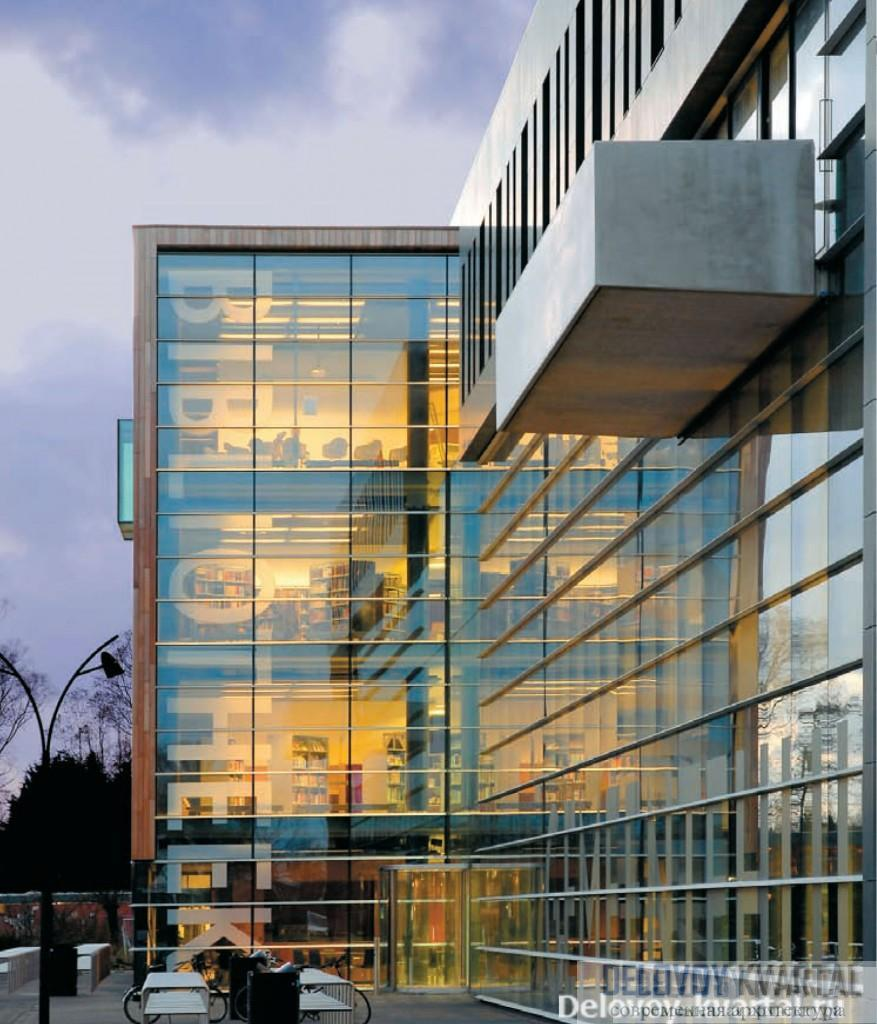 Реконструированное здание городской библиотеки и концертного зала. Херхюговард (Нидерланды). Hans van Heeswijk architecten. 2005