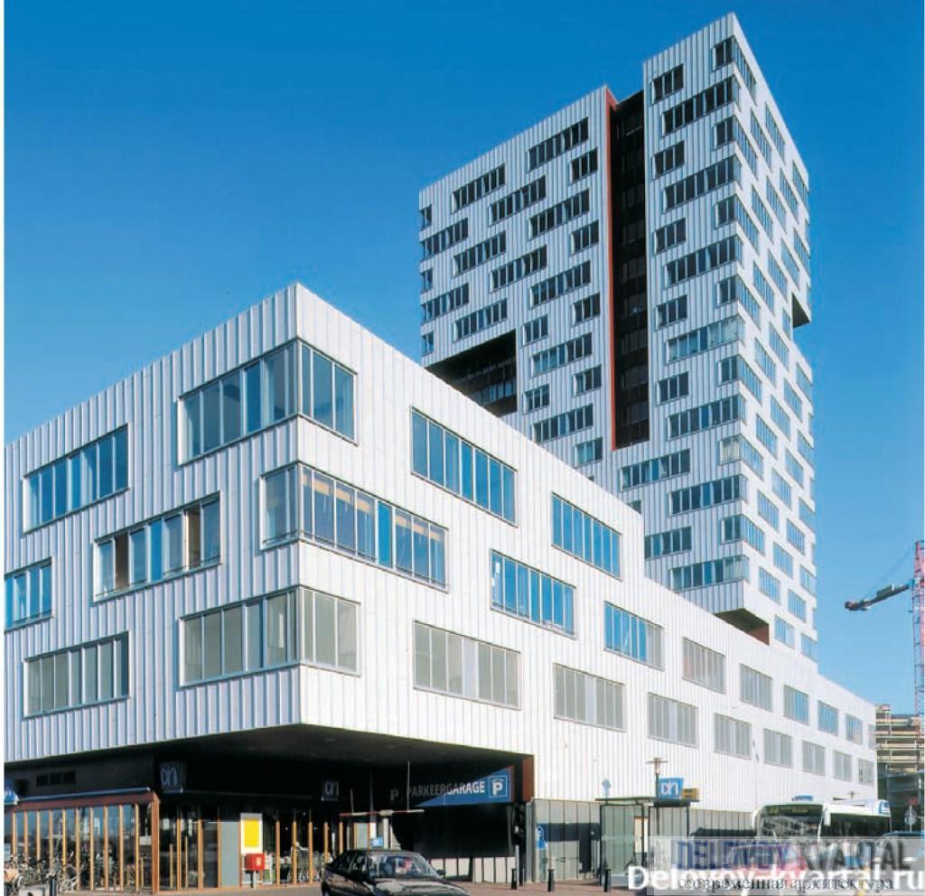 Многоквартирный жилой дом. Роттердам (Нидерланды). Neutelings Riedijk architects. 1998