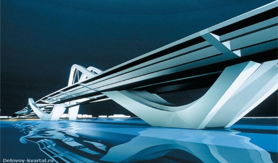 Мост Sheik Zayed. Абу-Даби