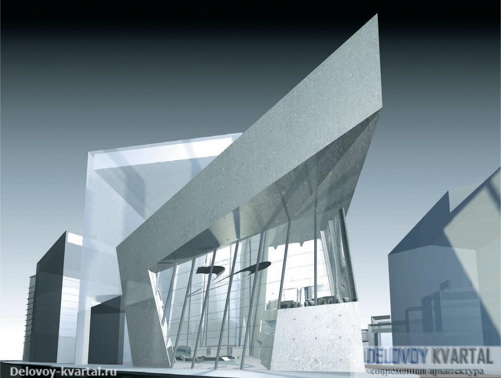 Заха Хадид. Здание Архитектурного фонда (Лондон). Конкурсный проект. 2005