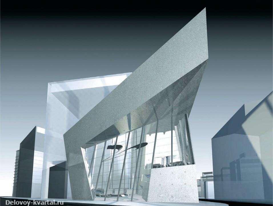 Здание Архитектурного фонда (Лондон). Конкурсный проект. 2005