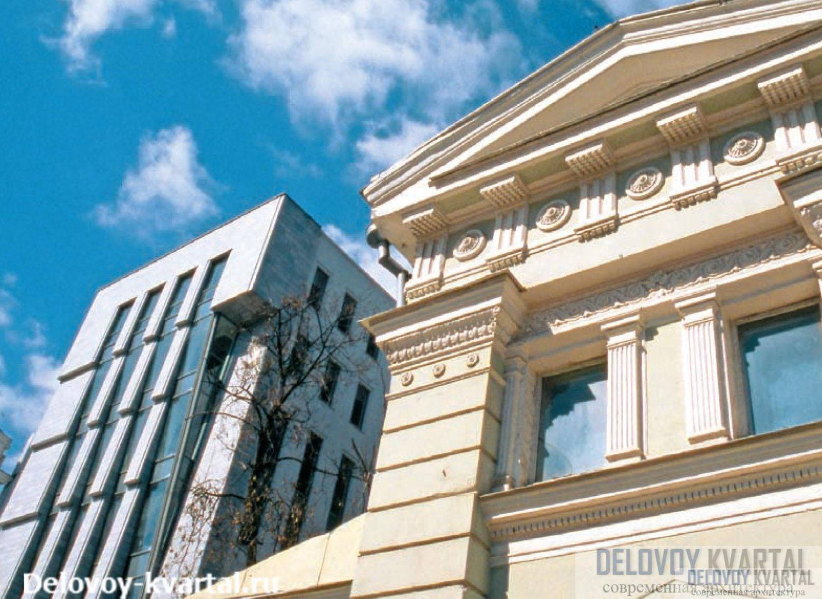Административное здание на Страстном бульваре («Архитектурная мастерская Лызлова»)